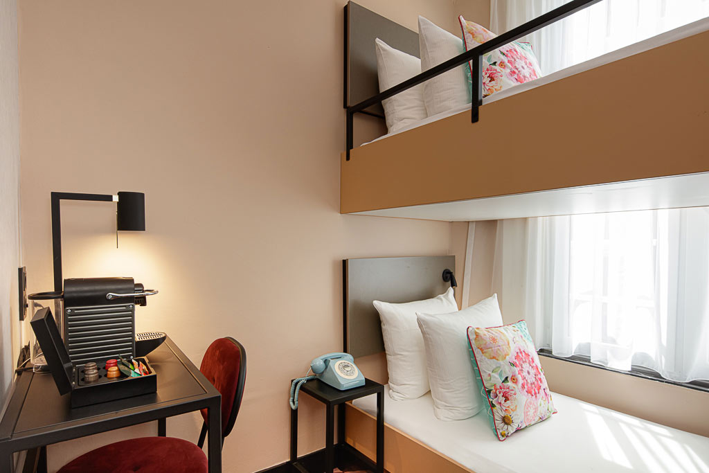 Small Twin Room with bunk bed